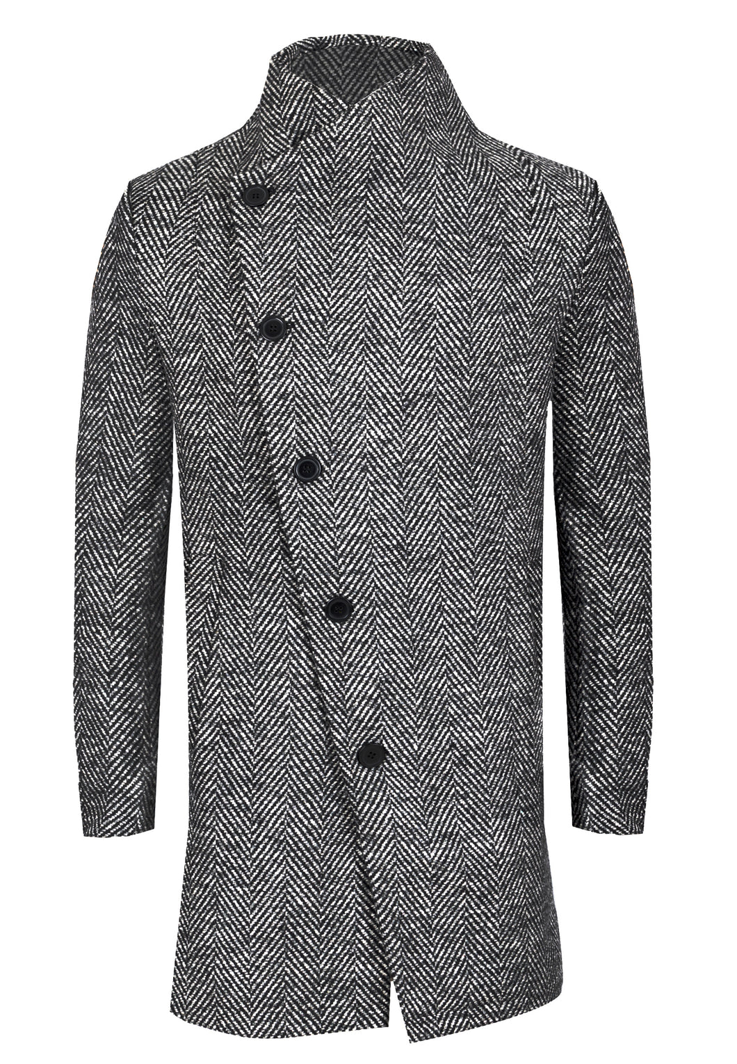 Religion Noirex Coat Grey Black