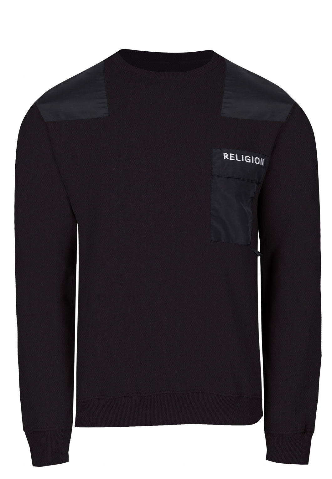 Religion Barrage Sweatshirt Black