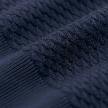 Load image into Gallery viewer, Gant Triangle Texture Jumper Navy