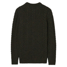 Load image into Gallery viewer, Gant Donegal Cable Knit Jumper Olive