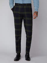 Load image into Gallery viewer, Gibson London Tartan Trouser