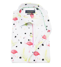 Load image into Gallery viewer, Guide London Flamingo Short Sleeved Shirt