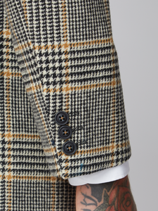 Gibson London Vinnie Checked Wool Coat
