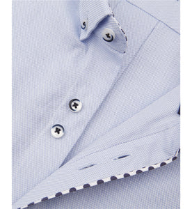 Guide London Polka Dot Trim Shirt Sky