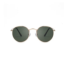 Load image into Gallery viewer, A Kjaerbede Hello Sunglasses Gold Green