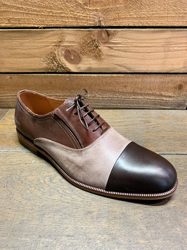 Lacuzzo Tonal Shoe Dark Brown
