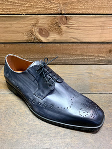 Lacuzzo Brogue Detail Shoe Grey
