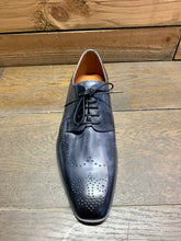 Load image into Gallery viewer, Lacuzzo Brogue Detail Shoe Grey