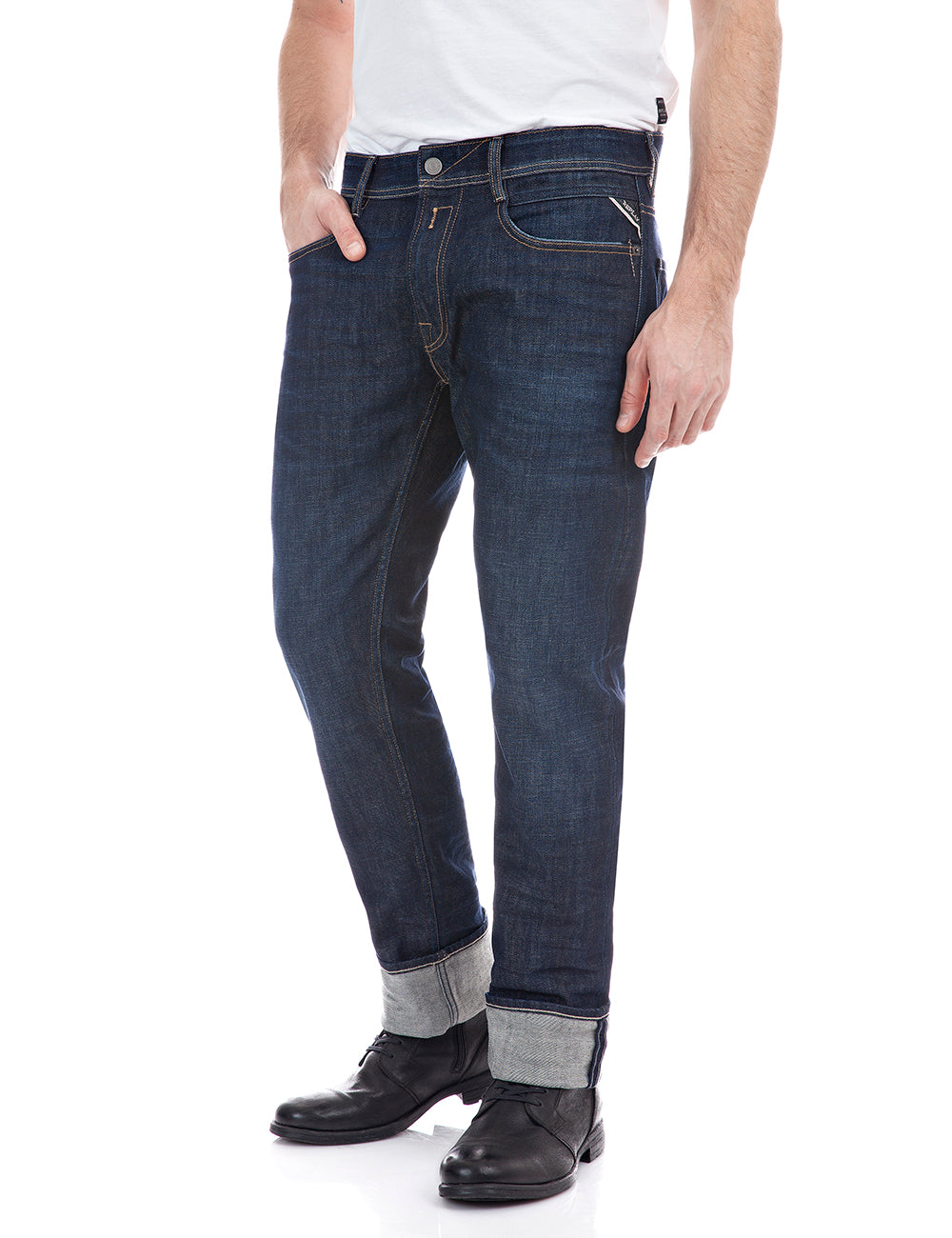 Replay Rocco Jeans Dark Blue Wash