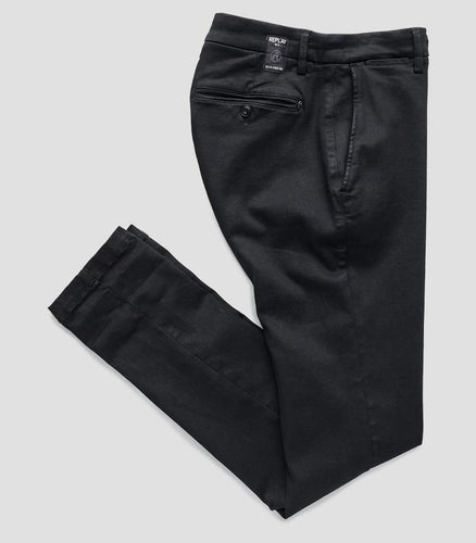 Replay Zeumar Hyperflex Chino Black