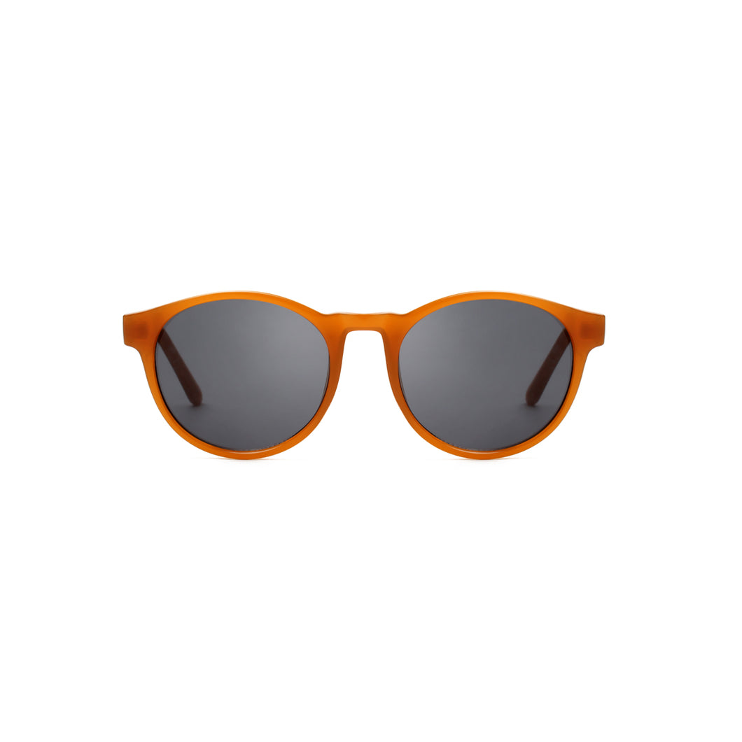 A Kjaerbede Marvin Sunglasses Yellow Transparent