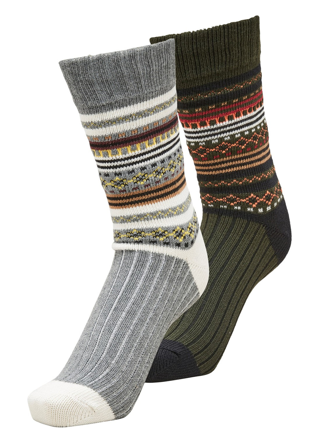 Selected Homme Heavy Nordic 2 Pack Socks