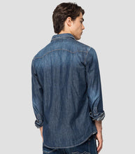 Load image into Gallery viewer, Replay Denim Shirt Blue