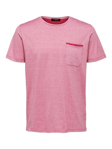 Selected Homme Dover T-Shirt Pink