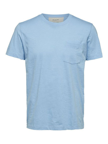 Selected Homme Jared T-Shirt Cashmere Blue