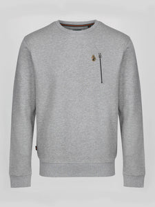 Luke 1977 Paris Sweatshirt Grey