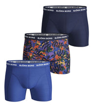 Load image into Gallery viewer, Bjorn Borg Winter Leaf 3 Pack Boxer Shorts