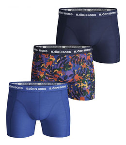 Bjorn Borg Winter Leaf 3 Pack Boxer Shorts