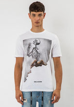 Load image into Gallery viewer, Religion Burned Skull T-Shirt White