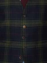 Load image into Gallery viewer, Gibson London Tartan Waistcoat
