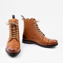 Load image into Gallery viewer, Sneaky Steve Fordham Boots Cognac