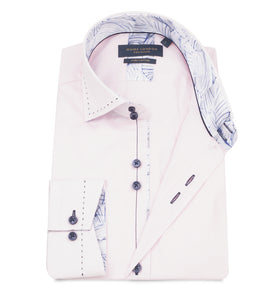Guide London Tailor Stitch Shirt Pink