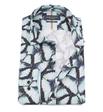 Load image into Gallery viewer, Guide London Butterfly Print Shirt Blue