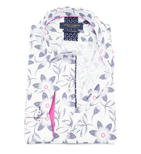 Load image into Gallery viewer, Guide London Patterned Shirt White Mix