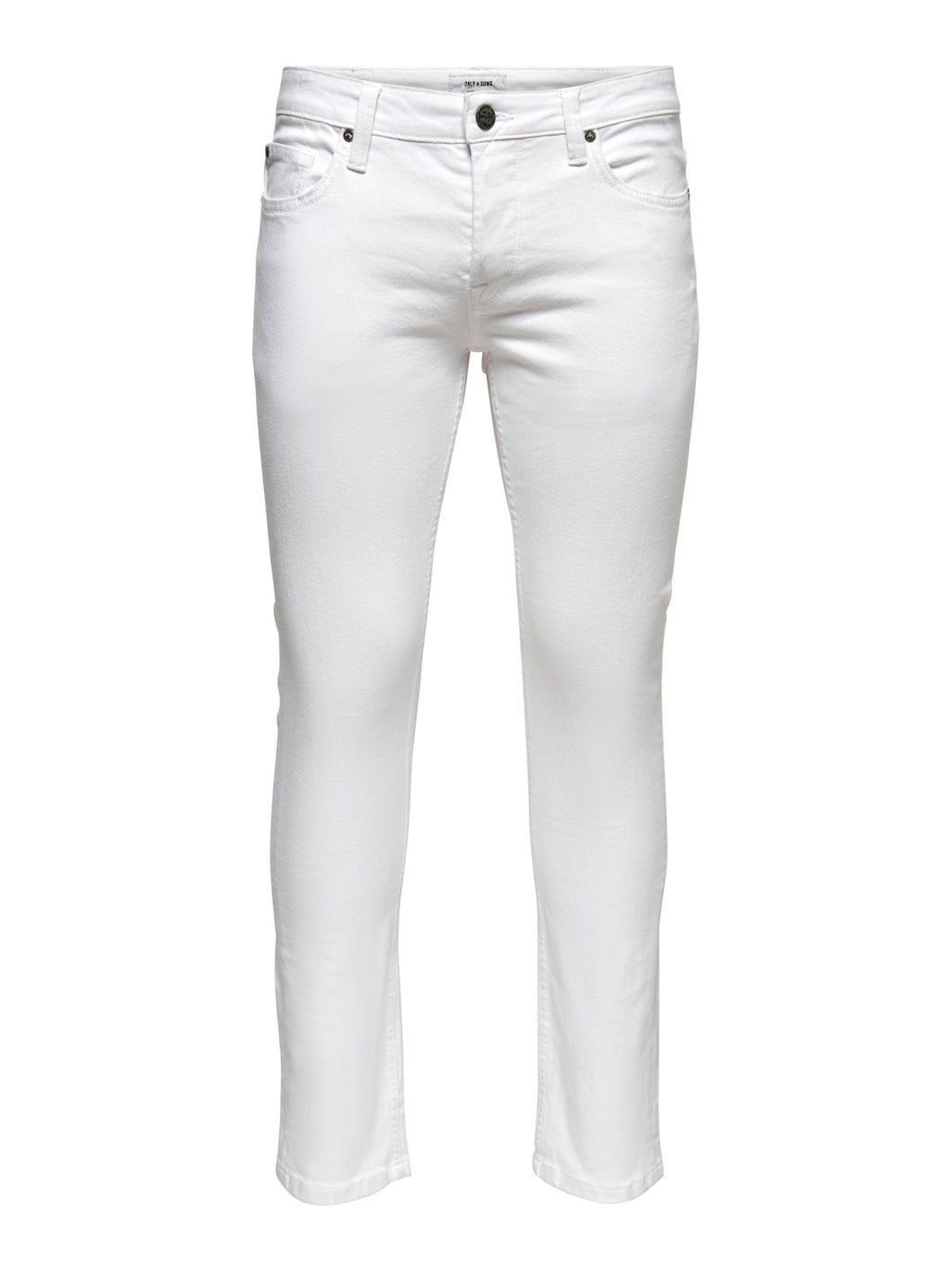 Only & Sons Loom Slim Jeans White