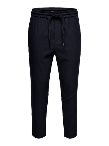 Only & Sons Linus Check Trouser Navy