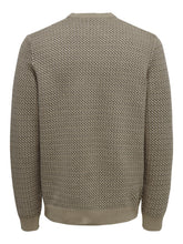 Load image into Gallery viewer, Only & Sons Shansom Jacquard Jumper Cream