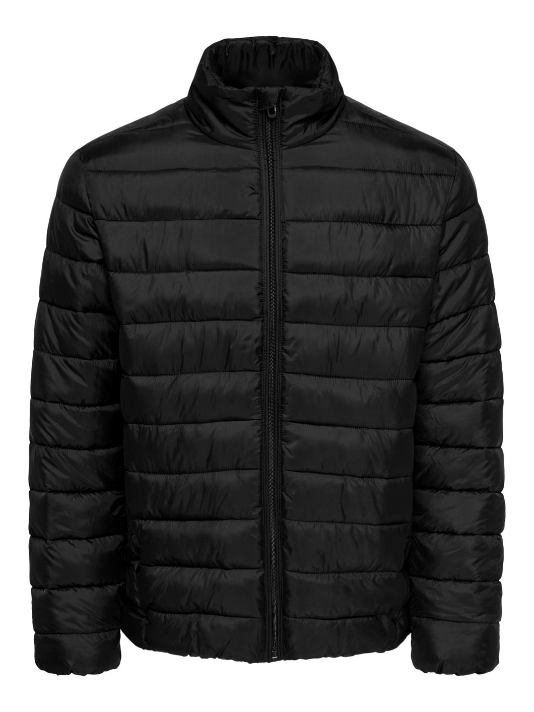 Only & Sons Steven Quilted Jacket Black
