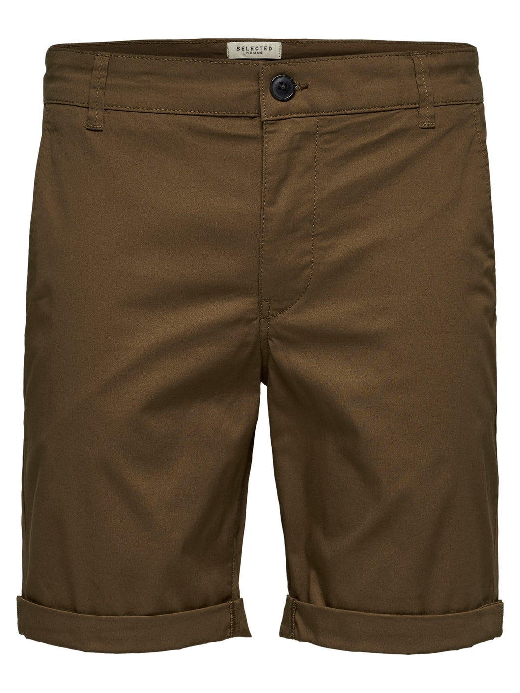 Selected Homme Paris Chino Shorts Camel