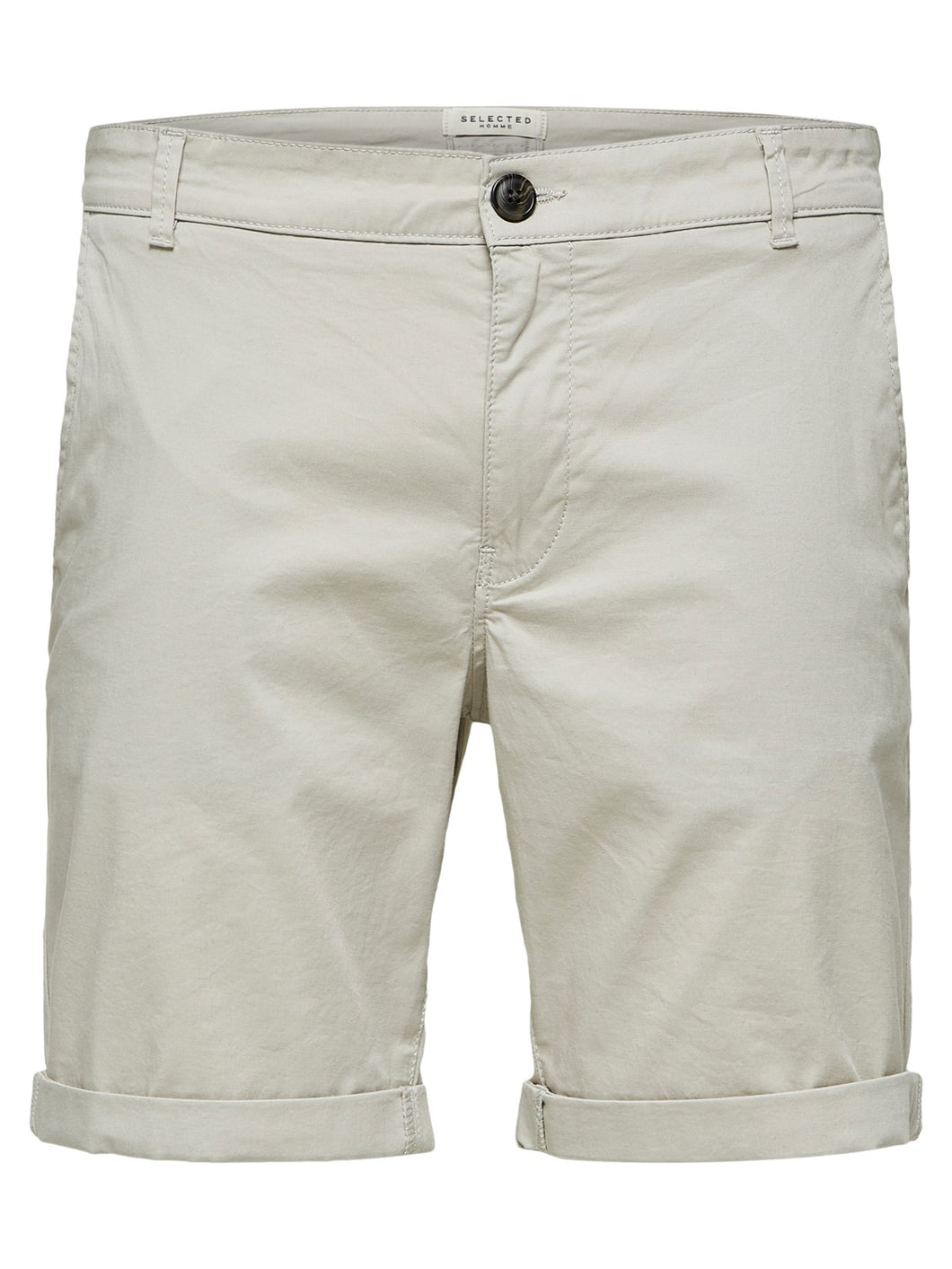 Selected Homme Paris Chino Shorts Moonstruck