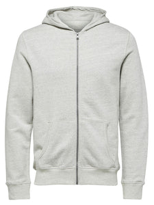Selected Homme Simon Hoody Light Grey