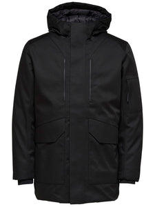 Selected Homme Hike Technical Jacket Black