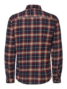 Selected Homme Jaxx Check Shirt Red