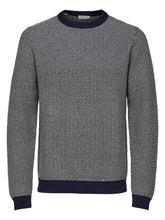 Load image into Gallery viewer, Selected Homme Haiden Jumper Navy