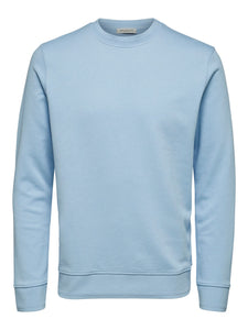 Selected Homme Bono Sweatshirt Sky Blue