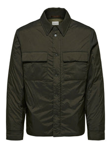 Selected Homme Luke Overshirt Jacket Olive
