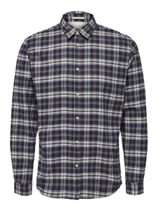 Selected Homme Harry Check Shirt Blue