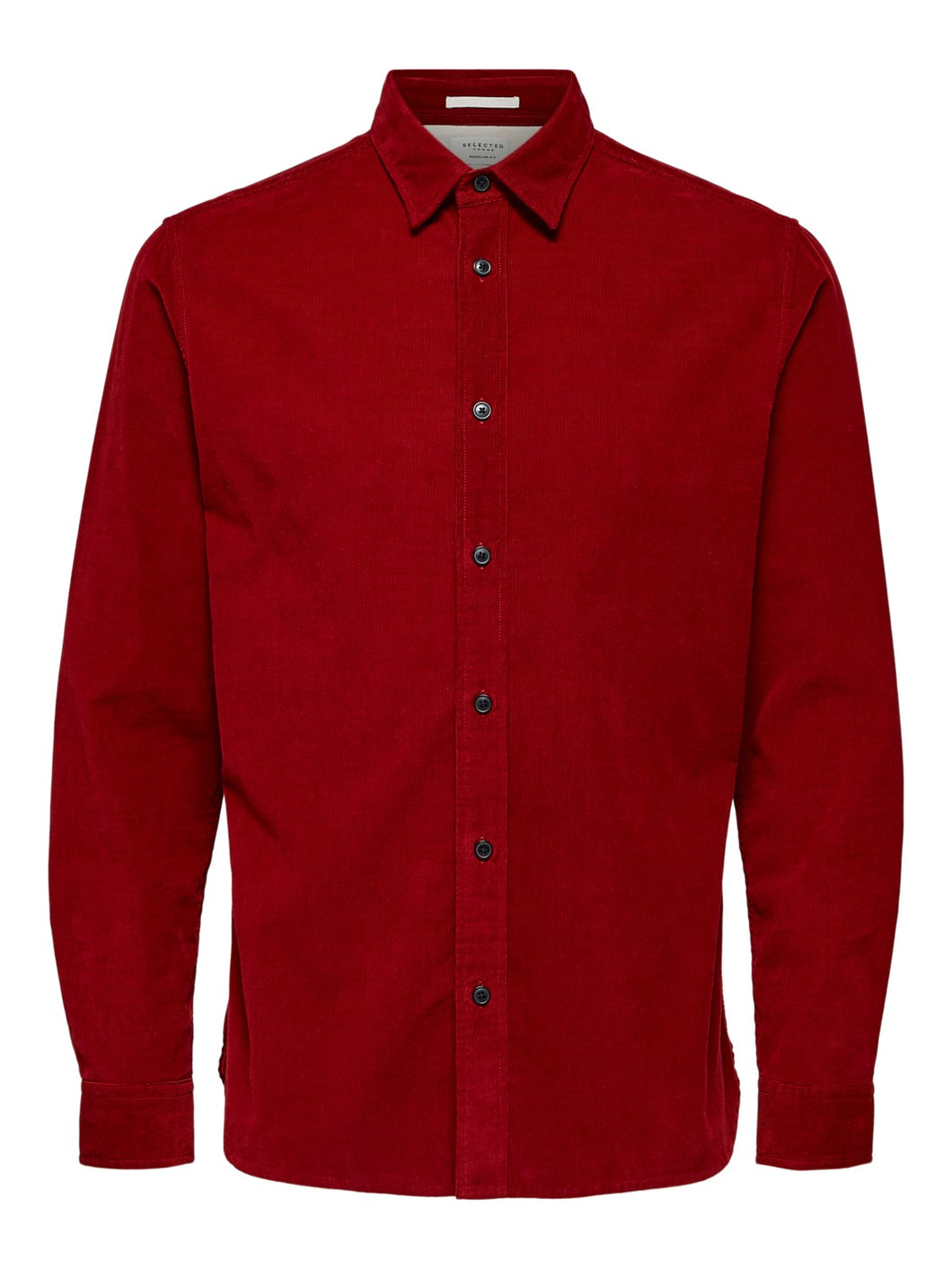 Selected Homme Craig Cord Shirt Red