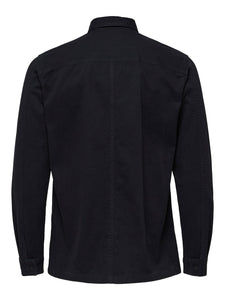 Selected Homme Simon Overshirt Black