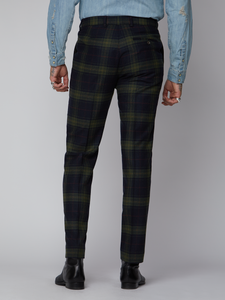 Gibson London Tartan Trouser