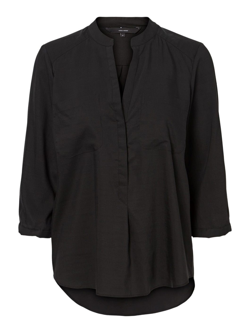 Vero Moda Tanya 3/4 Sleeve Blouse Black