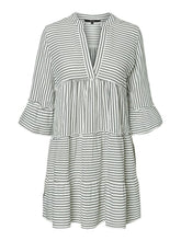 Load image into Gallery viewer, Vero Moda Heli Short Dress White Stripe