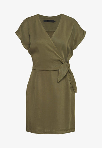 Vero Moda Lisa Short Dress Ivy Green