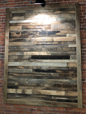Reclaimed Wall Board Brown Pre-Finished - Reclaimed Direct  Reclaimed Wall Board Brown Pre-Finished, Reclaimed Wood