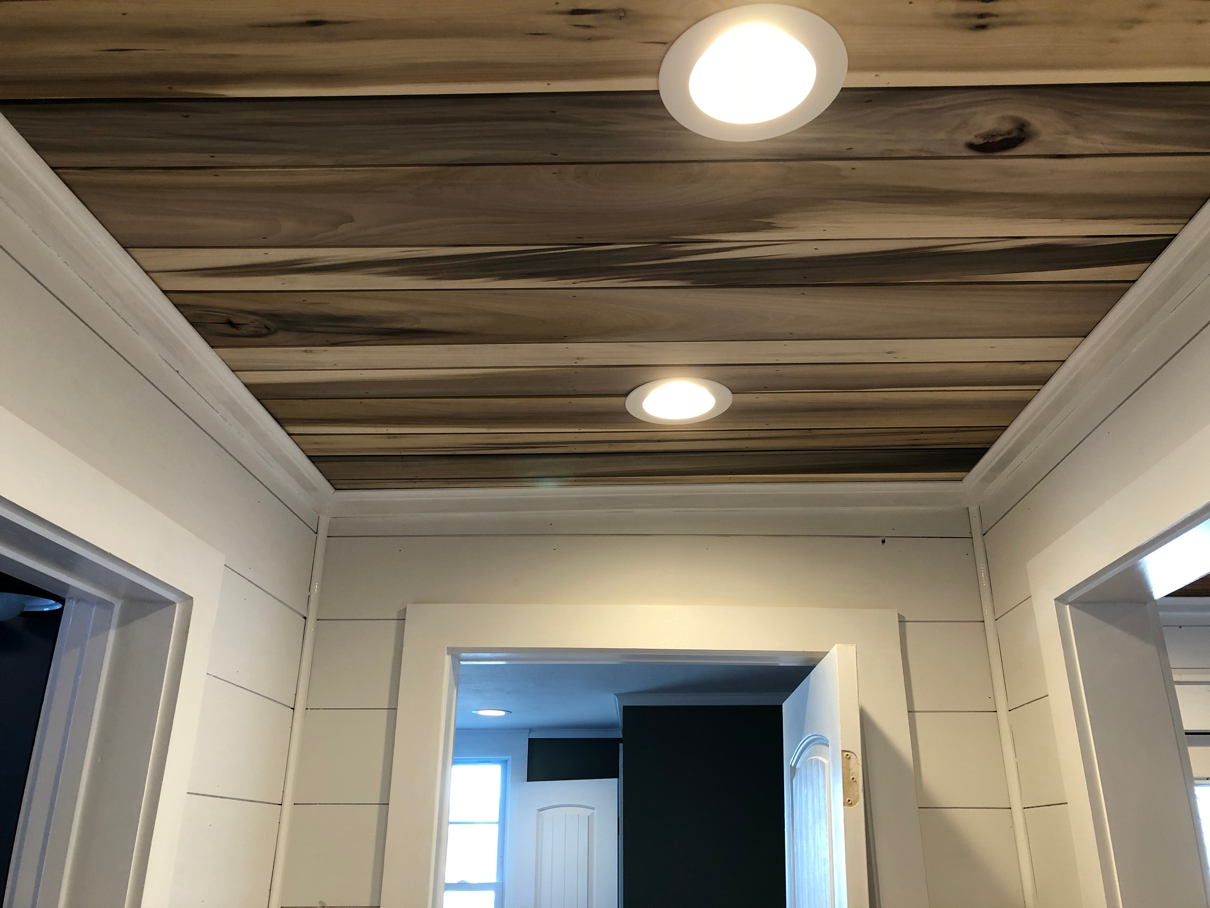 Dutch Creek Rustic Ceiling Plank - Reclaimed Direct  Dutch Creek Rustic Ceiling Plank, Reclaimed Wood