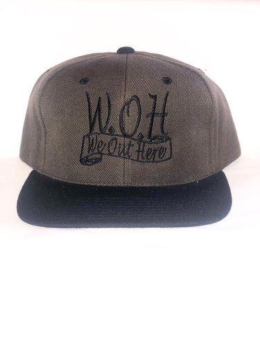 W.O.H We Out Here Brown/Black Snap Back